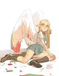 Angel by Mireys