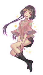a pretty girl by Mireys