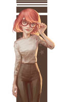 glasses by Mireys