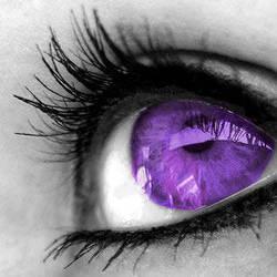 purple eye by Purplestranger