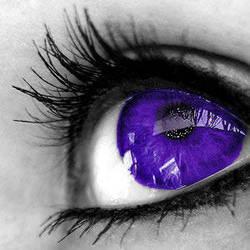 deep purple eye by Purplestranger