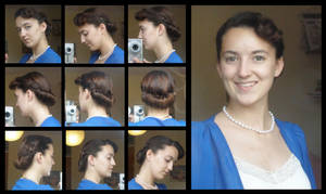 Romantic Hair Tuck by Durnesque