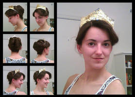 How to: Anastasia's Ball Gown Hair by Durnesque