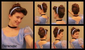 How to: Cinderella's Ballgown Hair by Durnesque