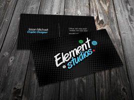 Element Business Card Design by Cre8tiveCloud