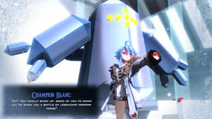 CM3D2: Champion Blanc Wants To Battle!! by excahm
