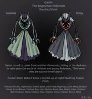 Garon Fakemon Kirlia Alternate Evolution by The-Clockwork-Crow