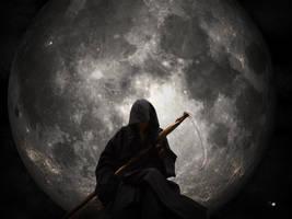 Moonlight Reaper Wallpaper ver by heinrisch