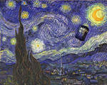 'Starry Night with Blue Box' or 'Vincent Travels' by TerryLightfoot
