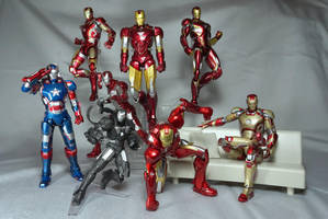 Iron Man Collection by Infinitevirtue