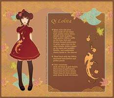 Qi Lolita Design by nokecha