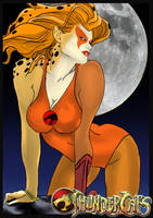 Cheetara---Thundercats by warriorCRACKER