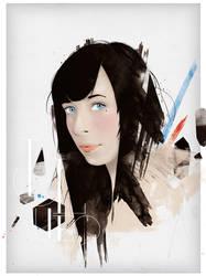 Anna Maria, magazine cover by incogburo