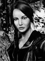 Katniss Everdeen by angiebelikejolie
