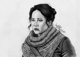 Katniss by angiebelikejolie