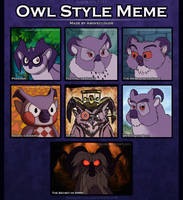 Owl Style Meme - Pash by aboveClouds