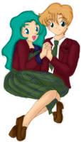 Michiru and Haruka by Myztic-Beauty