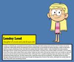 Londey Loud Bio (ENG) by Julex93