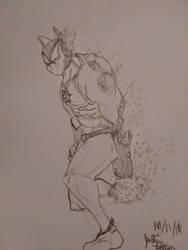 Infinity War Creature by thecreaturehero