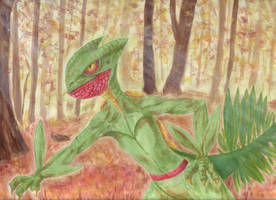 Sceptile by PuNK-A-CaT