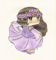 Lady Aphmau's Purple Dress by bunniesbysarah