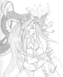 Dragon Princess by IronyWolf