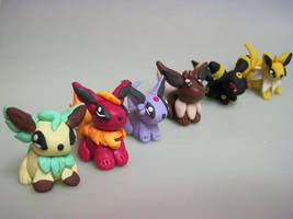 Eeveelutions v.2 by GingerTheFish