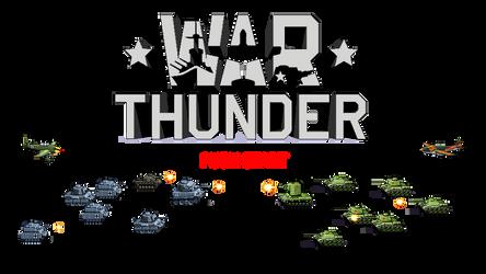 Pixel Tanks War Thunder by thesunwillnevershine