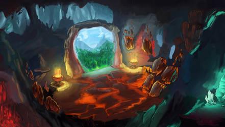 Underground Portal by thesunwillnevershine