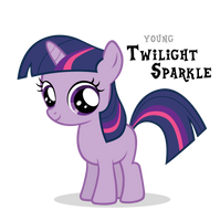 Twilight Sparkle Filly by Blackm3sh