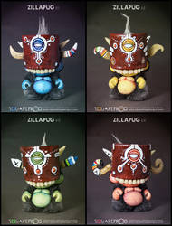ZillaPUG all by SquareFrogDesigns
