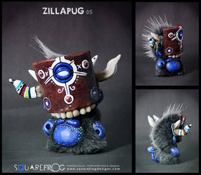 Zillapug 05 by SquareFrogDesigns