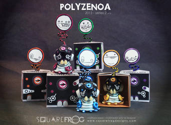 Polyzenoa 1-6 by SquareFrogDesigns