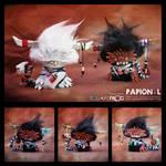 Papionai-L twins 01 by SquareFrogDesigns