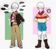 Fashionable Skeleton by cottelini