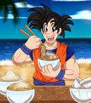 Goku by AlexDachshund
