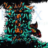 Burning fish by RASIX-Designs