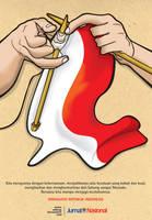 merajut kemerdekaan by adeng