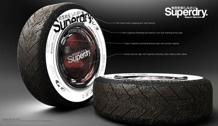 Used Superdry tyres by RupertWarries