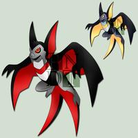 Fakemon VAMPIERCE by psychonyxdorotheos