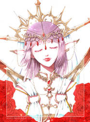 + The Elf Queen + by norli