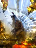 Shin Godzilla Gabe Final by Gabezilla2015