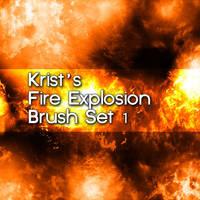 Krist's Explosion Brush Set 1 by Crestfalleen