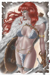 Red Sonja By Petervale-d9zsuzd by GRIGOLOSI
