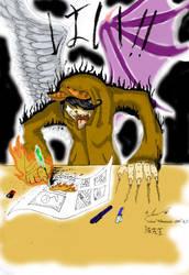 The Spirit of A Mangaka by RooFuzz