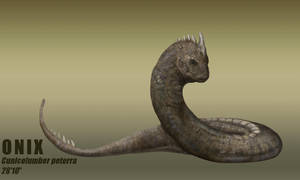 Realistic Pokemon - ONIX by Raptorzesty