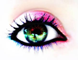 My eye by iheartpopart