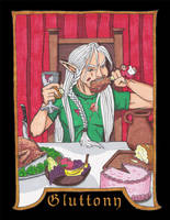 Vices: Gluttony by Pointy-Eared-Fiend