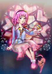 Touhou: Satori Komeiji by strobolights