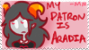 STAMP: Aradia patron by lucas420